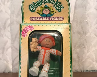 Cabbage Patch Kids Poseable Figure - First Edition - Bennie Marc