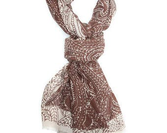 Printed Paisly Stole Scarf