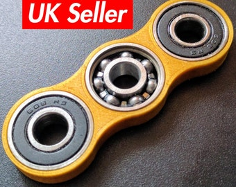Fidget spinner toy - duo spinner 3d printed / adhd toy / edc spinner / every day carry / stress toy / uk seller DUO