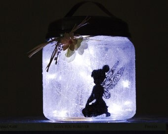 Fairy Light Jar | Fairy Jars | Fairy Night Lights | Children's Room | Night Light | Ambient Lighting | Fairy Light | Bedroom Decor