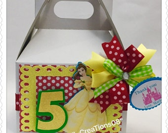6 Belle Treats Box