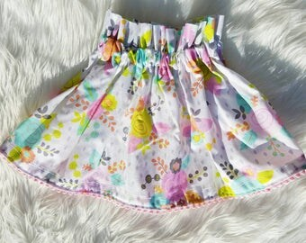 RTS Spring Skirt 12 and 18 months