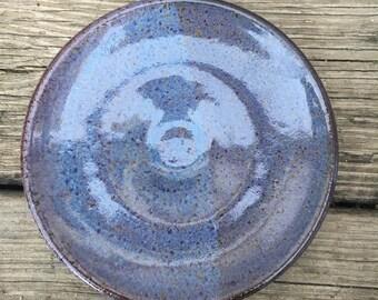 Handmade Stoneware Dessert Plate