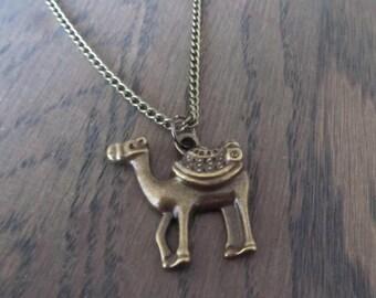 Necklace camel