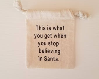 Gift Card Holder- Santa Non-Believer