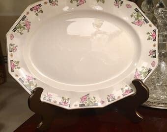 Vintage Johnson Brothers (England) decorative platter!