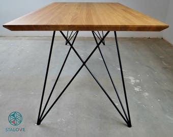 Stainless steel dining room table - Of Steel Dine Table Legs Butterfly Metal Table Legs For Dining Room