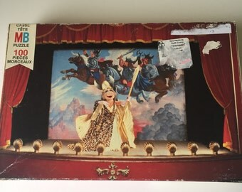 1980 Milton Bradley Muppets 100 piece jigsaw puzzles The Muppet Movie Jim Henson