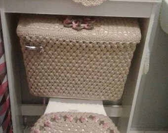 Crochet Towel Holder Etsy
