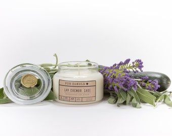 8 oz Scented Soy Candle