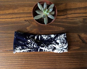 "Headband - The ""WAIKIKI PRINT"" Edith Headband / Headwrap /  Bandana / Bandeau"