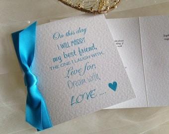 Marry My Best Friend Wedding Invitations