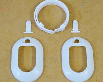 5 adjustable earmuff frames