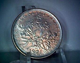 5 Francs 1971 - République Française