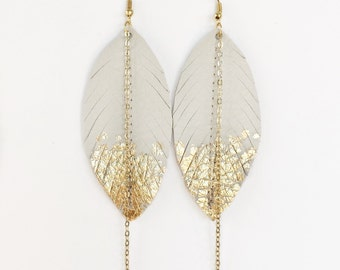 gold leaf ivory dusters