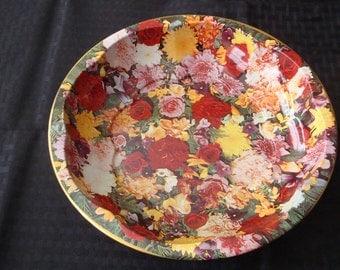 Daher Decorative Tin Bowl 11101
