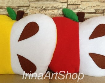 Set pillows apple toys