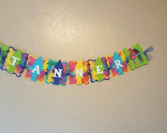 Additional Letters For name banners  or items.