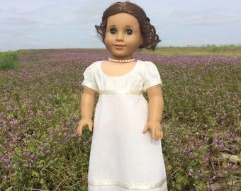 Regency Sari Gown for 18'' dolls like American Girl