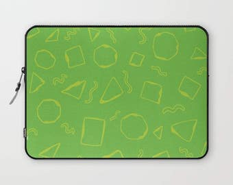 Laptop Sleeve 13, Laptop Sleeve 15, Laptop Sleeve Macbook Pro 13,Laptop Sleeve Pattern, Green Laptop Sleeve
