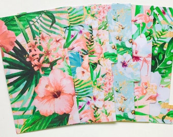 Tropic Floral - Planner Dividers/Planner accessories
