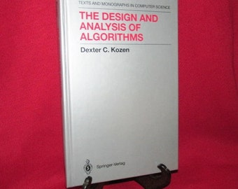 The Design and Analysis of Algorithms , by Dexter C. Kozen