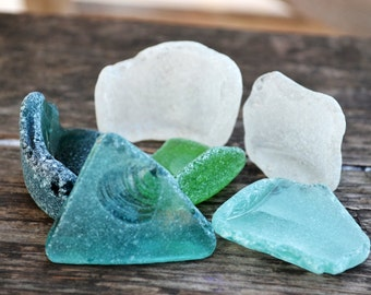 Sea Glass Bottle Kick Ups Genuine Sea glass Bottle Bottom with Bottle Side Beach Glass fragments Really Surf Tumbled glass Ocean Themed gift