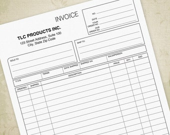 Invoice Printable Form PDF, Bill Of Sale, Sales Invoices, Invoice For  Business    Digital Invoices