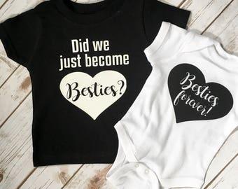 Best Friends Shirts - Bestie Shirts - Sister Shirts - Matching shirts - Sisters Shirt - Best Friend Shirts - Big Sister Shirt - Bestie Shirt