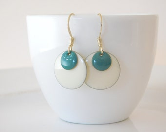 earrings *retro* doublecircle