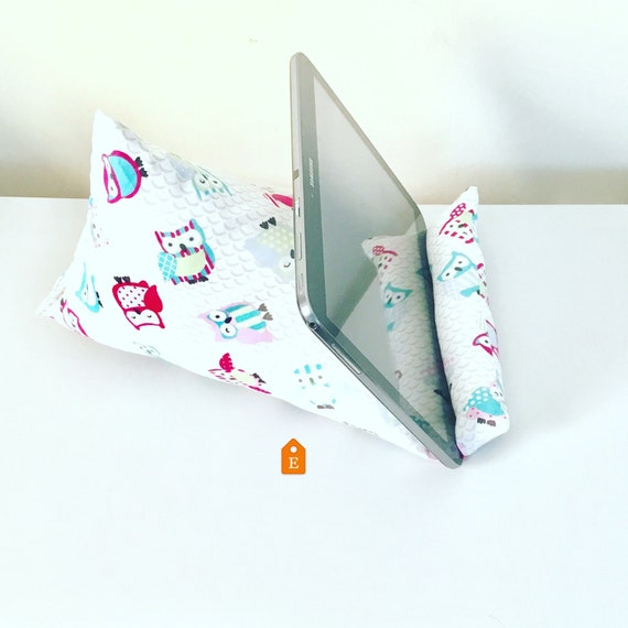 Cute Tablet Pillow : tablet pillow iPad pillow owl iPad stand by Dgillyscrafts on Etsy