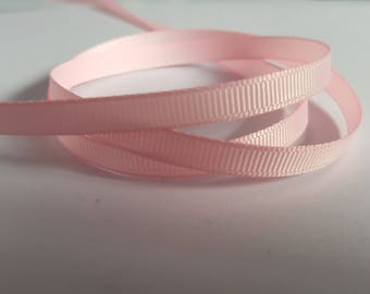 6mm Grosgrain ribbon, Grosgrain ribbon, Double sided ribbon, Ribbon, Ribboncrafts, Grosgrain, Pink ribbon, Pink