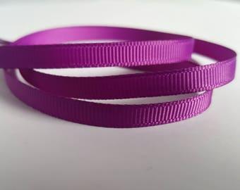 6mm Grosgrain ribbon, Grosgrain ribbon, Double sided ribbon, Ribbon, Ribboncrafts, Grosgrain, Purple ribbon, Purple