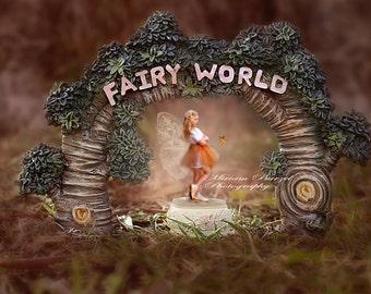 digital backdrop fairy