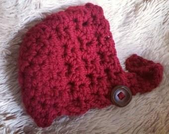 Newborn bonnet, newborn hat, baby boy, baby girl, made to order