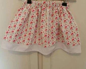 Girl's elastic skirt