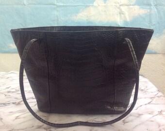 Hobo Vintage . 90s Vintage Hobo. Leather bag. Shoulderbag .