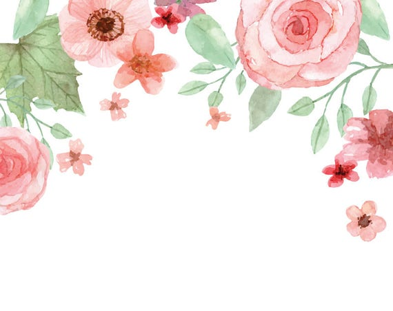 watercolour rose flower frame clipart graphic design png arts and crafts clip art transparent arts and crafts clipart black & white