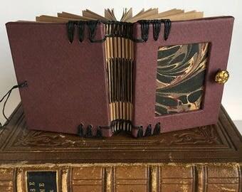 handmade  book - journal - notebook