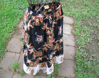 ship free Tiered skirt apollo Tiered skirt size large