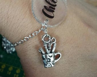 Personalized Bracelet with charms