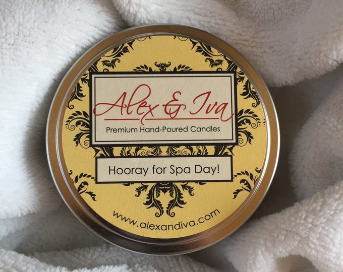Hooray For Spa Day! - 8 oz. tin