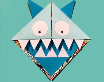 Corner Bookmark Monster