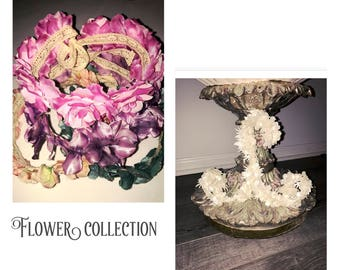 Decorative Clothing Hangers - Flower Collection by House of Hangers