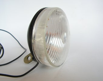 Vintage USSR Bicycle Lamp, Bicycle Headlight, Bicycle Lamp, Dynamo Lamp, Bike Lamp, Retro Bike Lamp, Vintage Soviet Bicycle Lamp