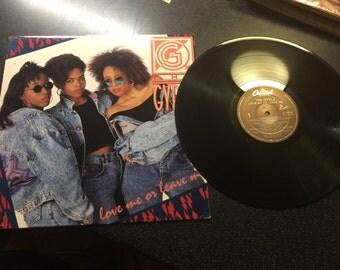 The GYRLZ Love Me or Leave Me 1988 Teddy Riley Al B Sure mega rare viyl LP record wax