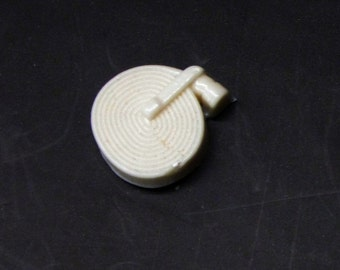 1:48 scale model resin fire truck hose coil coiled