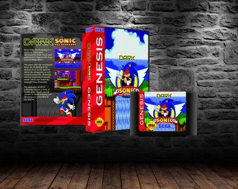 Dark Sonic in Sonic 1 - High-Speed Action with your favorite Evil Twin - GEN