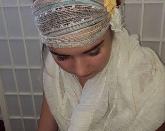 Shabby chic Teen/Adult headband