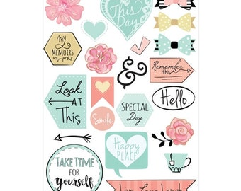 Sizzix PLANNER PAGE ICONS Stickers
